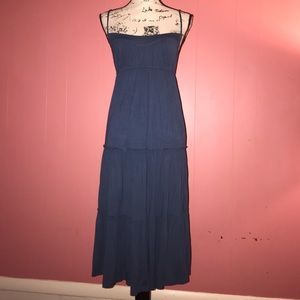 NWOT Juicy Couture Blue Maxi Dress Sz S